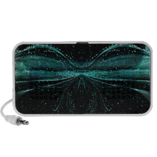 Abstract Astronomical Spider Doodle Speakers