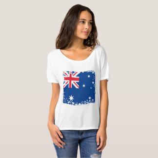 Abstract Australia Flag, Australian Colors T-Shirt