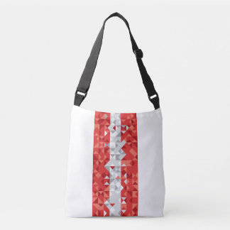 Abstract Austria Flag, Austrian Colors Bag