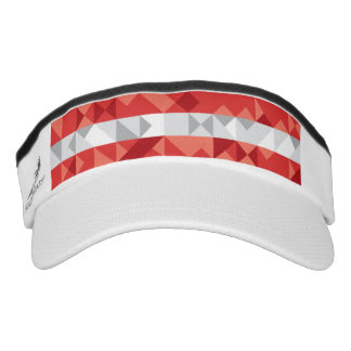 Abstract Austria Flag, Austrian Colors Hat