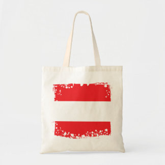 Abstract Austrian Flag Tote Bag