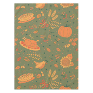 Abstract Autum Harvest Pattern Tablecloth