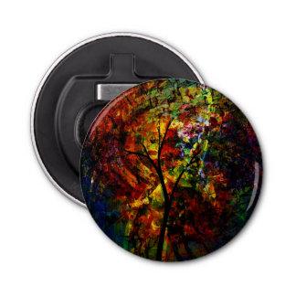 Abstract Autumn Bottle Opener
