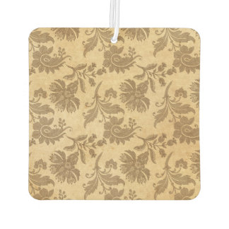 Abstract Autumn/Fall Flower Patterns Car Air Freshener