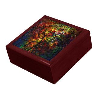 Abstract Autumn Gift Box