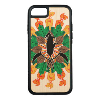 Abstract Autumn Harvest Collage Carved iPhone 7 Case