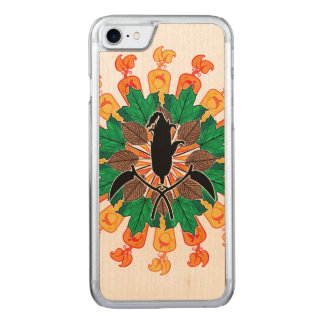 Abstract Autumn Harvest Collage Carved iPhone 8/7 Case