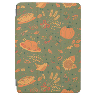 Abstract Autumn Harvest Patterns iPad Air Cover