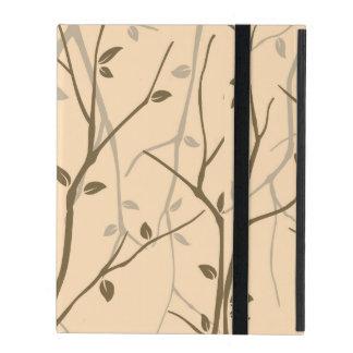 Abstract Autumn Leaves iPad Folio Cover