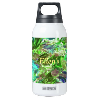 Abstract Autumn Leaves Pattern Insulated Water Bottle