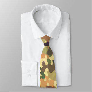 Abstract Autumn Tie