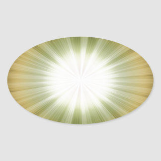 abstract-background #9 oval sticker