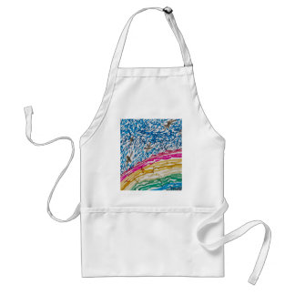 abstract background aprons
