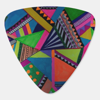 Abstract background plectrum