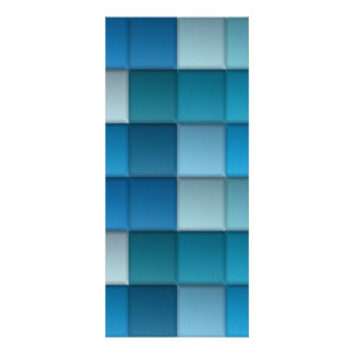 Abstract Background Full Color Rack Card
