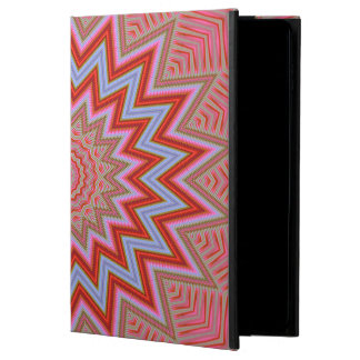 Abstract Background Red And Pink Concentric Stars Powis iPad Air 2 Case