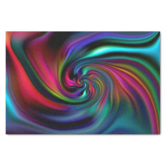 Abstract Background Spirals soft I Tissue Paper