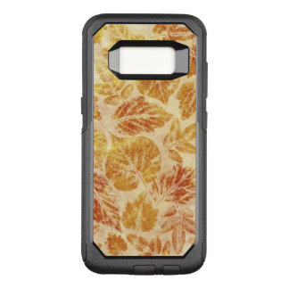 Abstract backgrounds, watercolor, leaves OtterBox commuter samsung galaxy s8 case