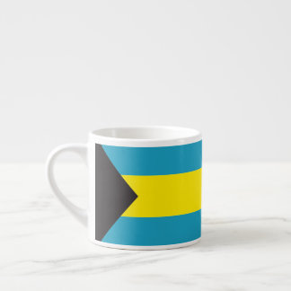 Abstract Bahamas Flag, Bahamian Coffee Mug