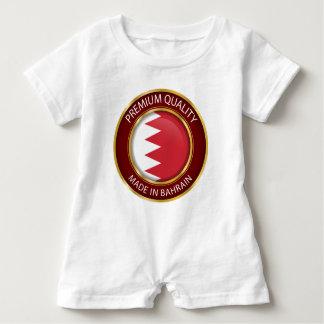 Abstract Bahrain Flag, Bahraini Colors Baby Bodysuit