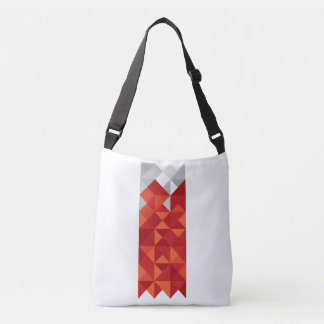 Abstract Bahrain Flag, Bahraini Colors Bag