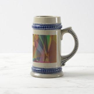 Abstract Banana Coffee Mug