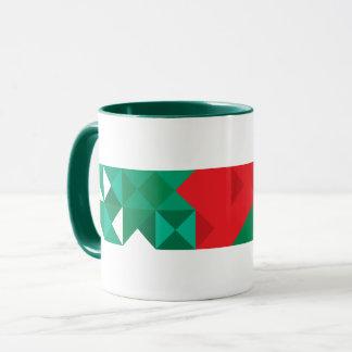 Abstract Bangladesh Flag, Bangladech Colors Mug