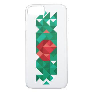 Abstract Bangladesh Flag,  Poly Flag Art iPhone 8/7 Case