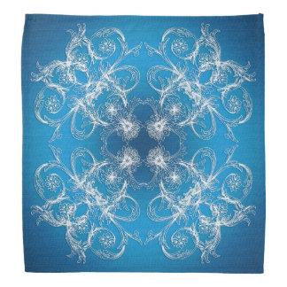 Abstract baroque style ornament/texture. bandana