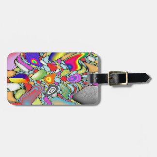 Abstract Beach Pebbles Luggage Tag