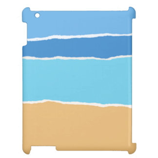 Abstract beach, sea and sky cover for the iPad 2 3 4