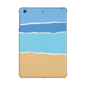 Abstract beach, sea and sky iPad mini cover