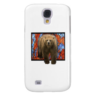 Abstract Bear Galaxy S4 Covers