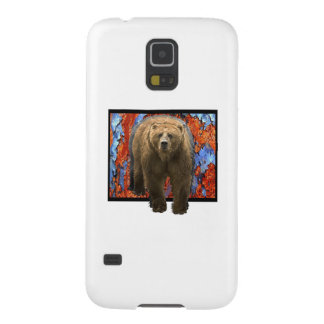 Abstract Bear Galaxy S5 Case