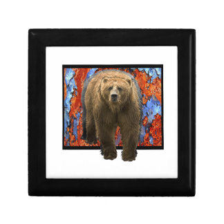 Abstract Bear Gift Box