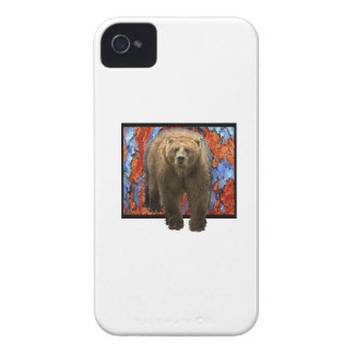 Abstract Bear iPhone 4 Covers