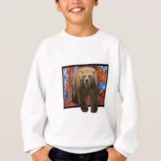 Abstract Bear Sweatshirt