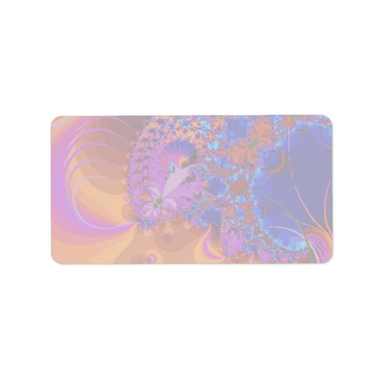 Abstract Beautiful Label