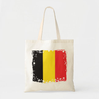 Abstract Belgium Flag, Belgian Colors Bag