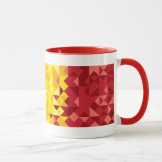 Abstract Belgium Flag, Belgian Colors Mug
