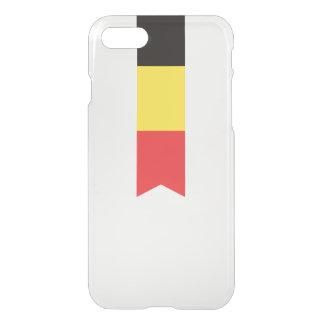 Abstract Belgium Flag, Belgian Ribbon Phone Case
