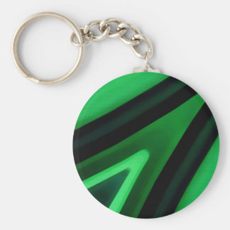 Abstract Bend Lines Background Basic Round Button Key Ring