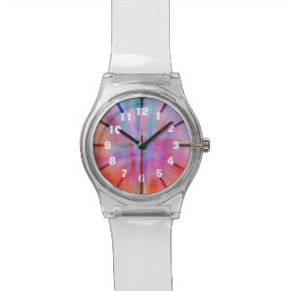 Abstract Big Bangs 002 Numbers Watch