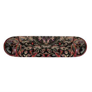 Abstract Bikes Skateboard Deck