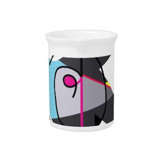 Abstract bird pitcher