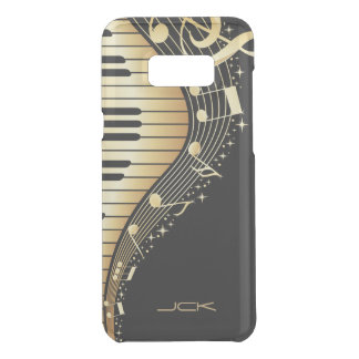 Abstract Black And Gold Piano Uncommon Samsung Galaxy S8 Plus Case