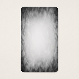 Abstract black and white cloud texture business card