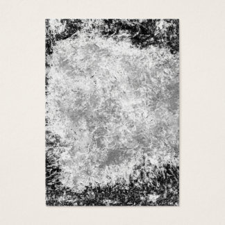 Abstract black and white textured business card