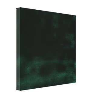 Abstract Black Dreamy Canvas Print
