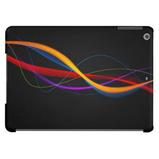 Abstract Black Multicolour: iPad Air Cover